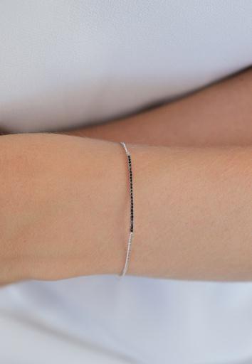 Linea Bracelet Black
