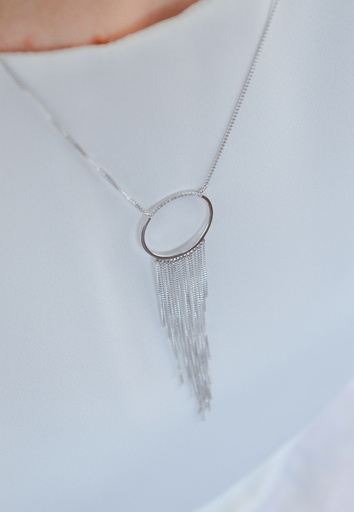 Star (Circle) Necklace
