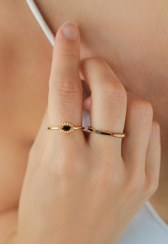 Black Vibration Ring