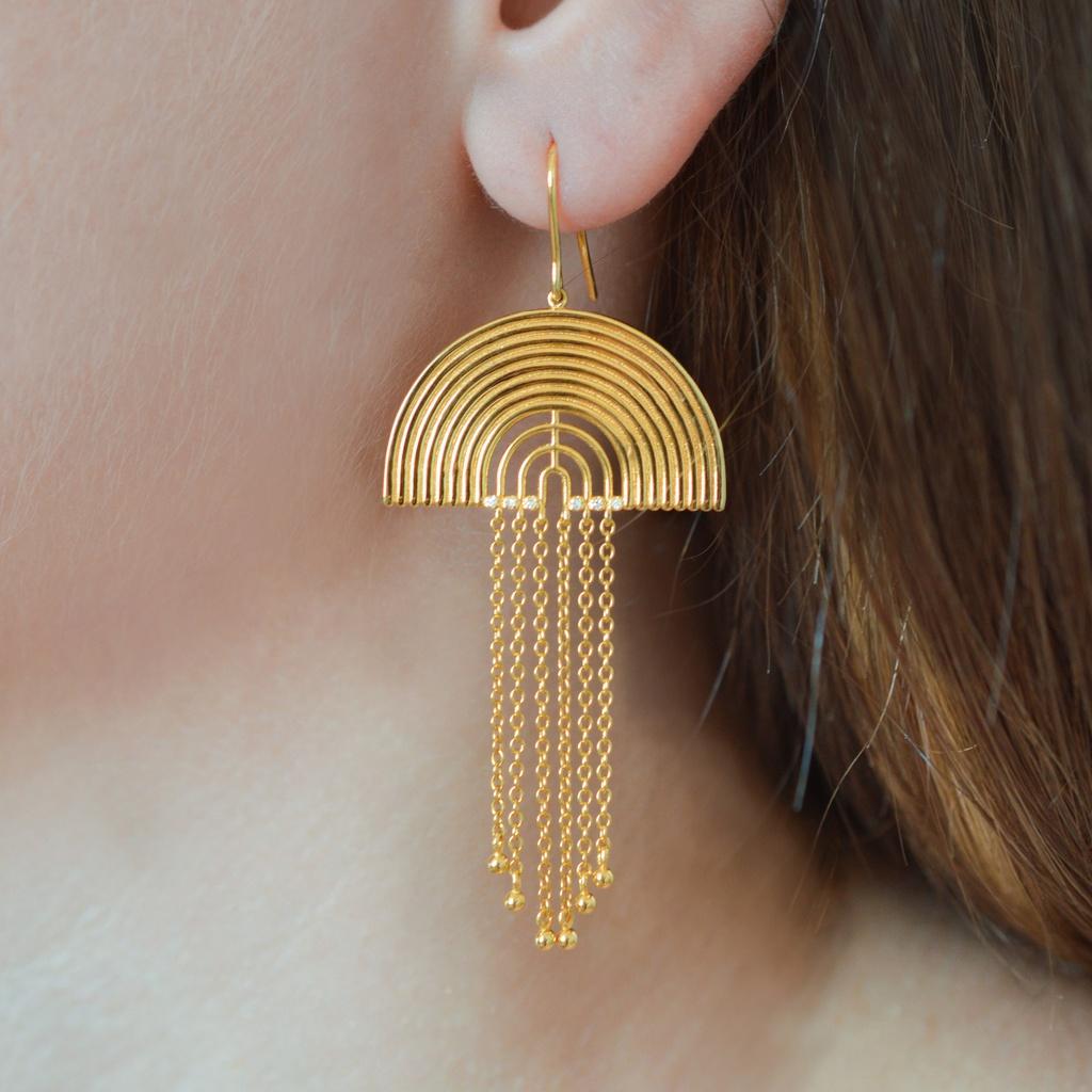 Nut (Single) Earring