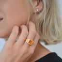 Orange Empress Ring