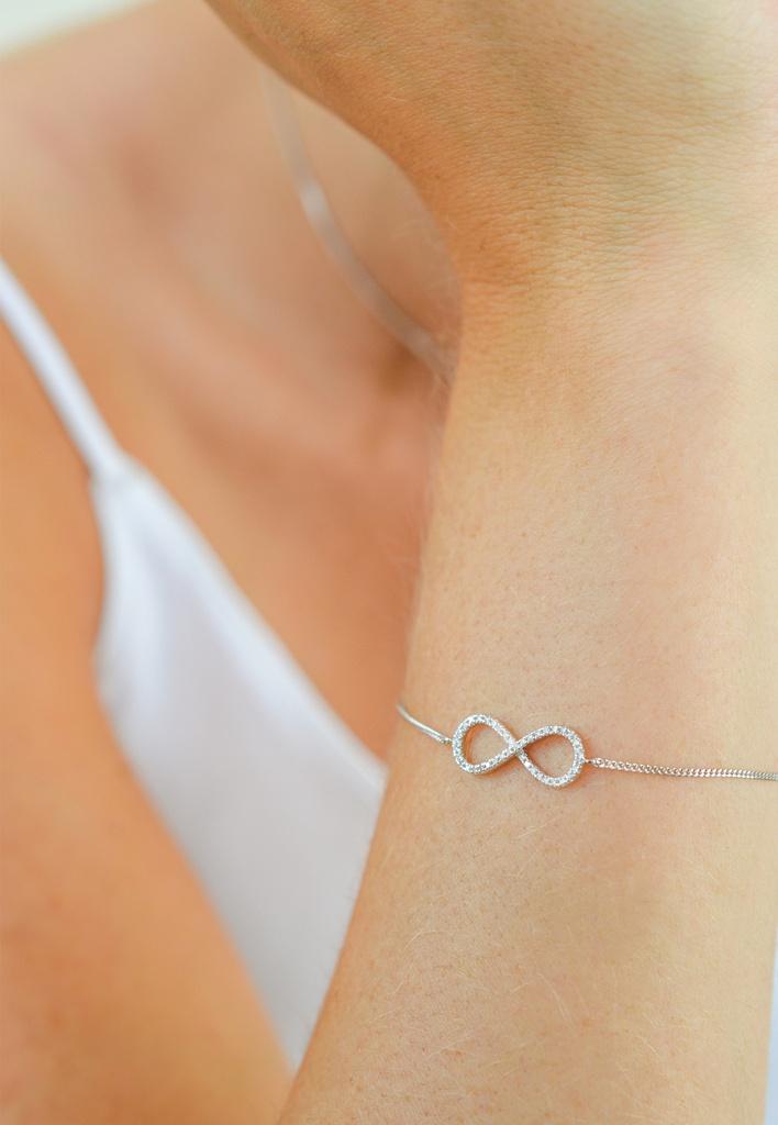 Big Infinity Bracelet