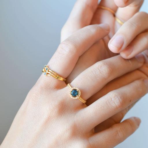 Diamond Aurora Ring