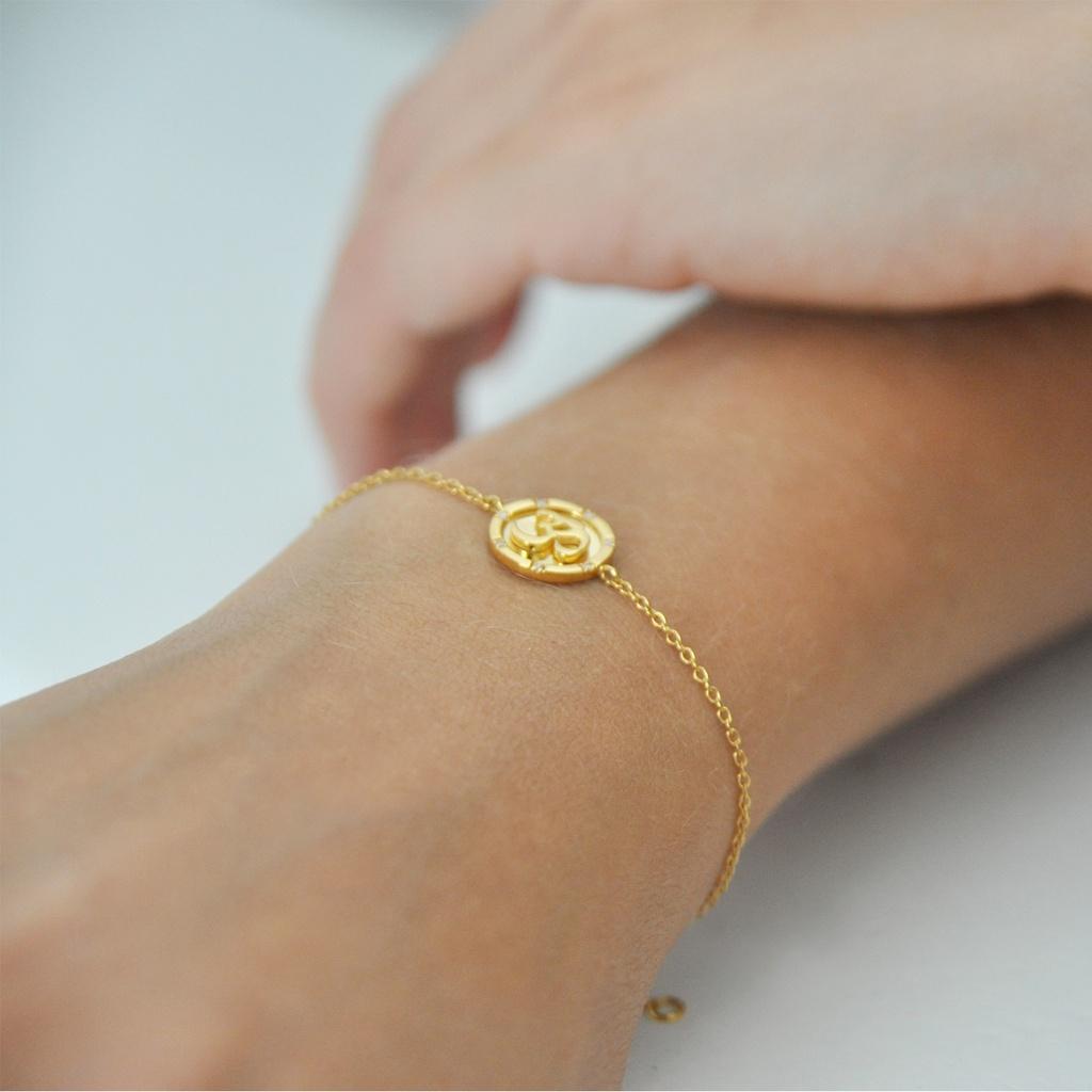 Om Chain Bracelet