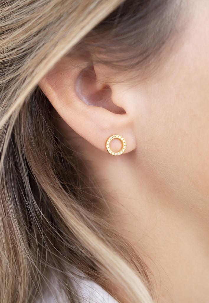 Full Circle of Life Single Earring