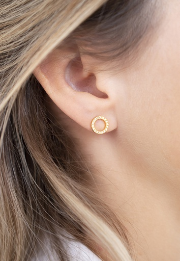 Full Circle of Life Single Earring