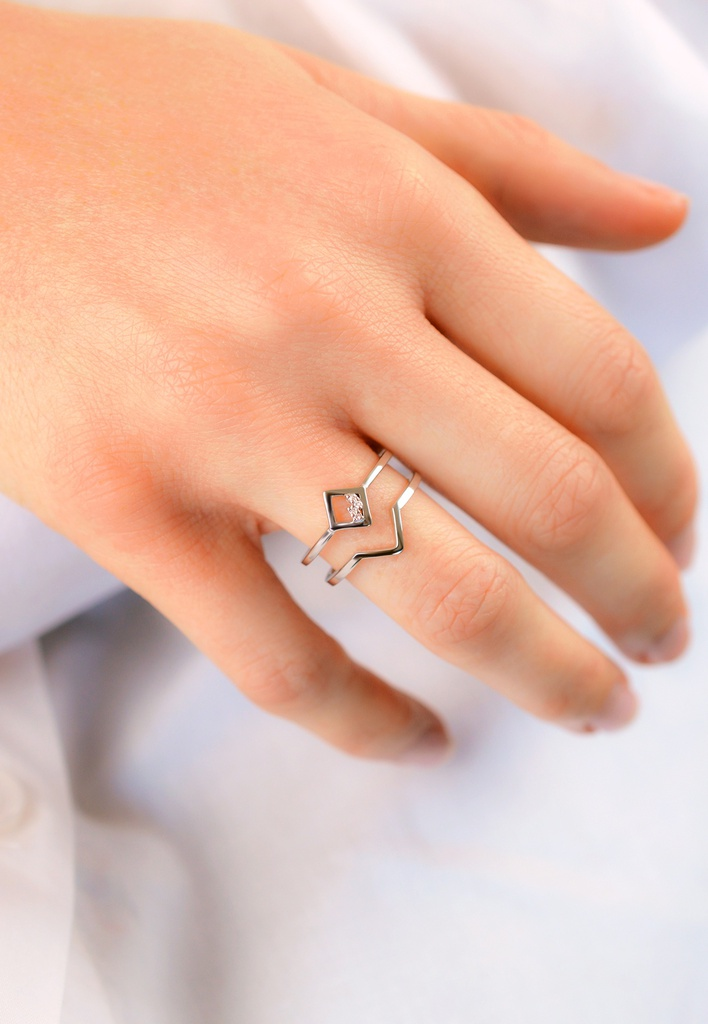 Square Unity Ring