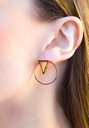 Triangle Unity Earring