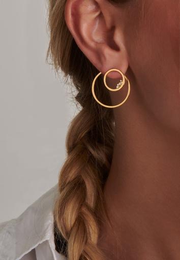 Circle Unity (Single) Earring