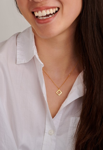 Square Unity Necklace