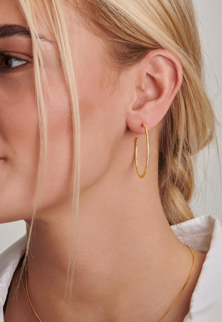 Endless Diamond Earrings (L)