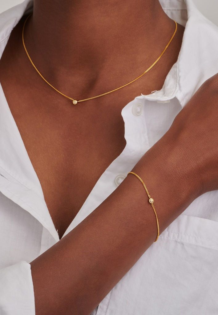First Diamond Necklace