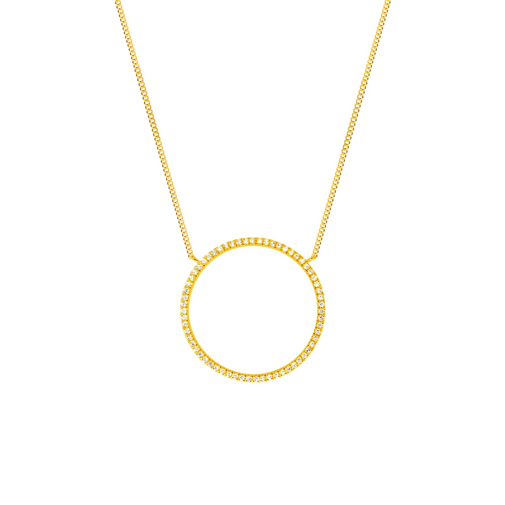Full Circle of Life Necklace