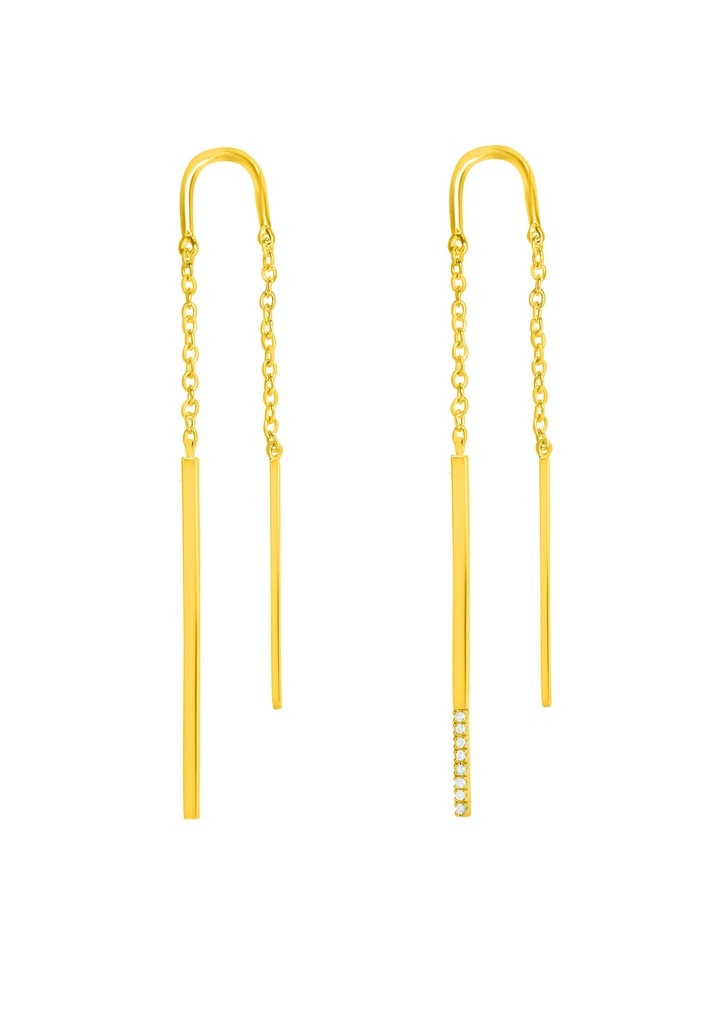 Double Linea Earring