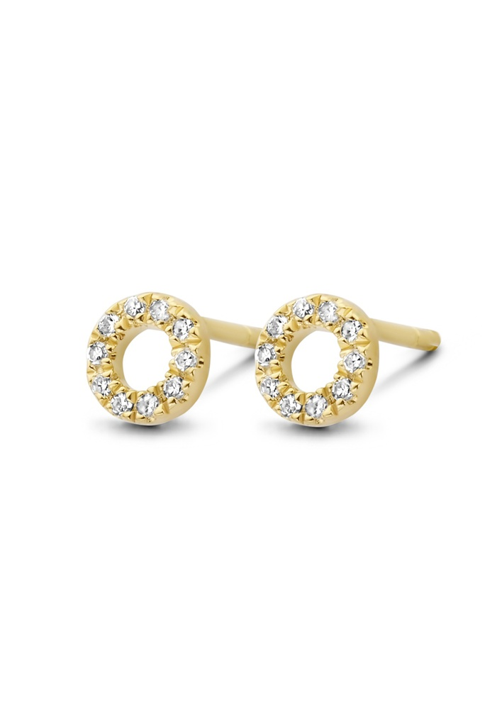 Small Circle of Life Earrings