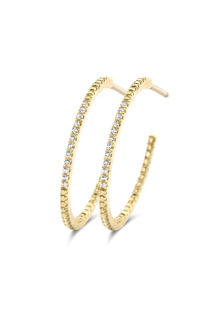 Endless Diamond Earrings (M)