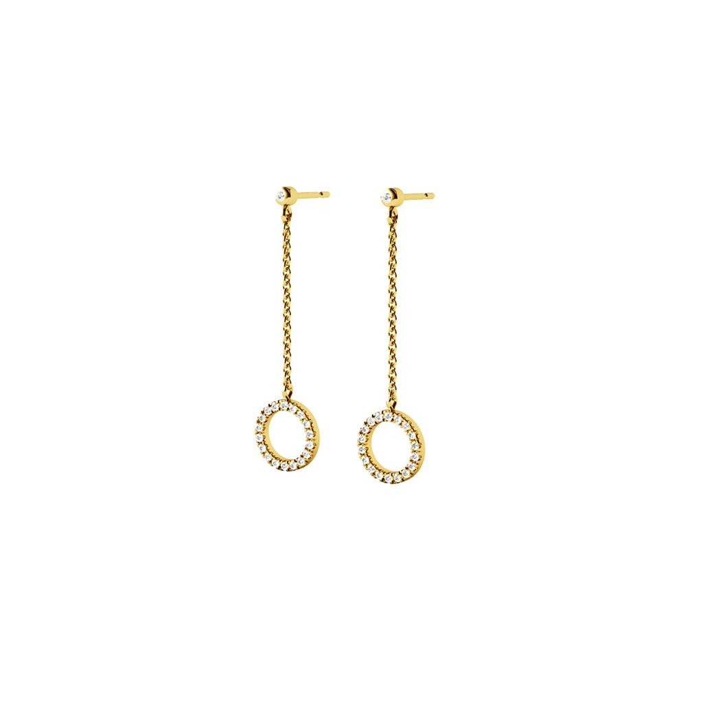 Circle of Life Earring (on chain)