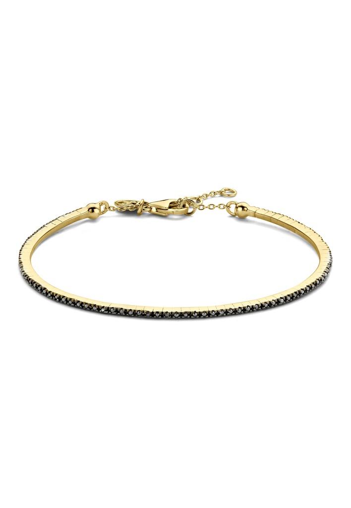 Black Endless Diamond Bracelet