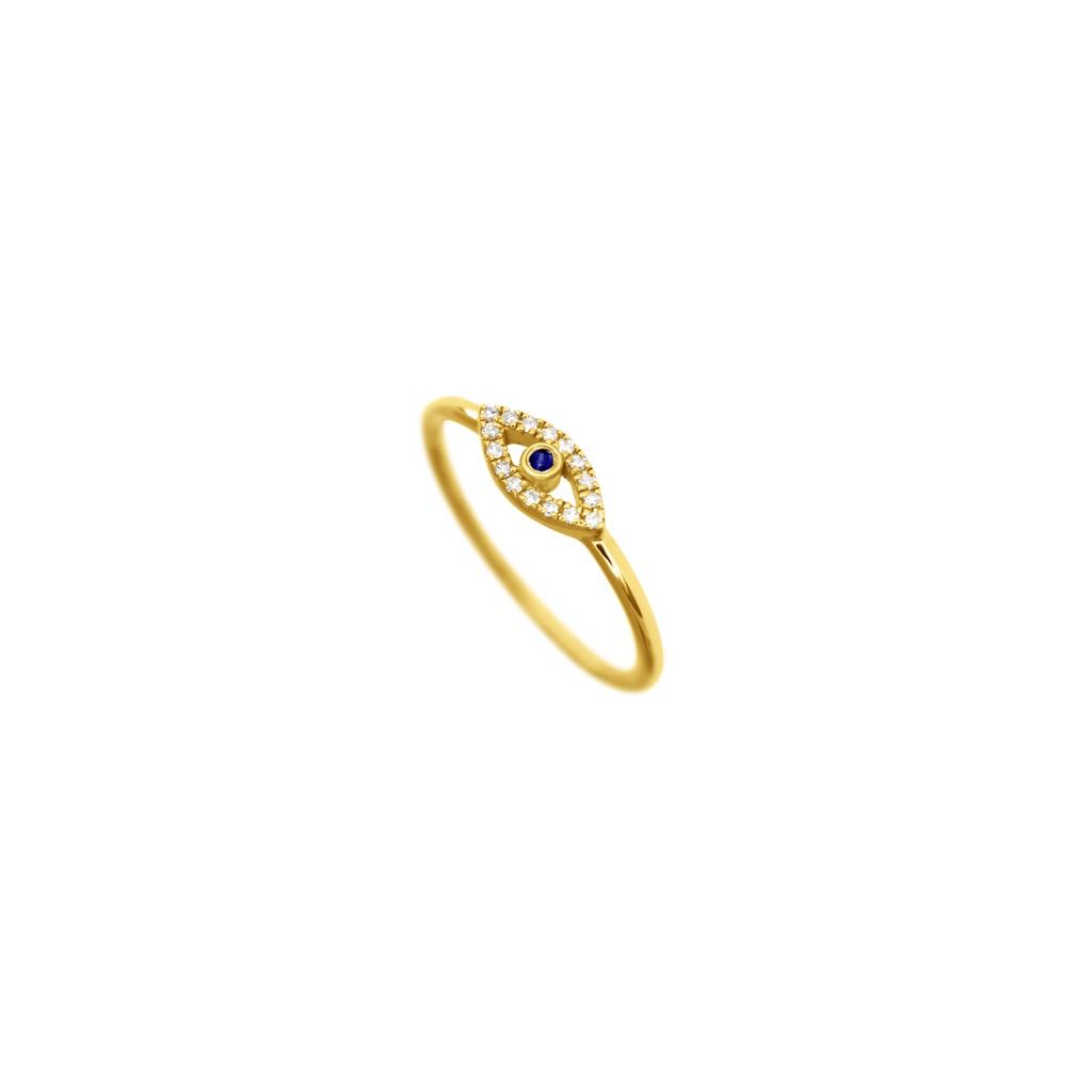Evil Eye (full) Ring