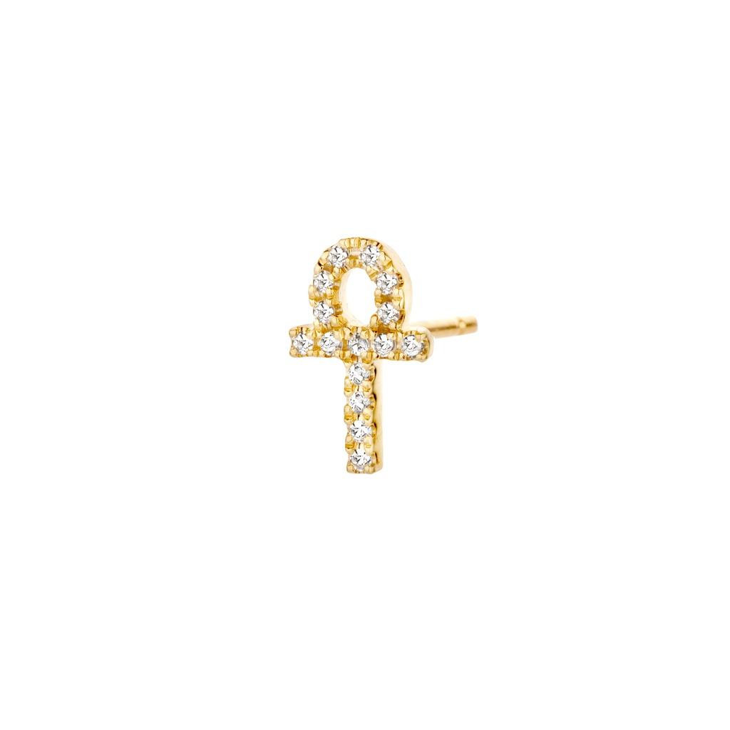Ankh (Single) Earring