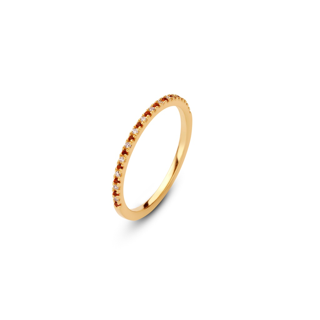 Sanguine Moon Ring