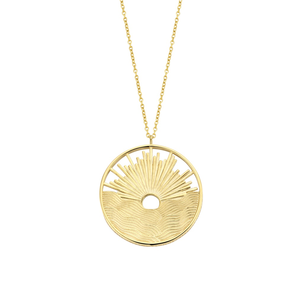 Sunset Gold Necklace