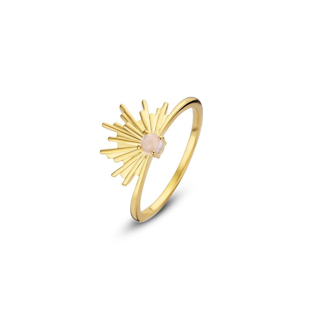 Sunset Gold Ring