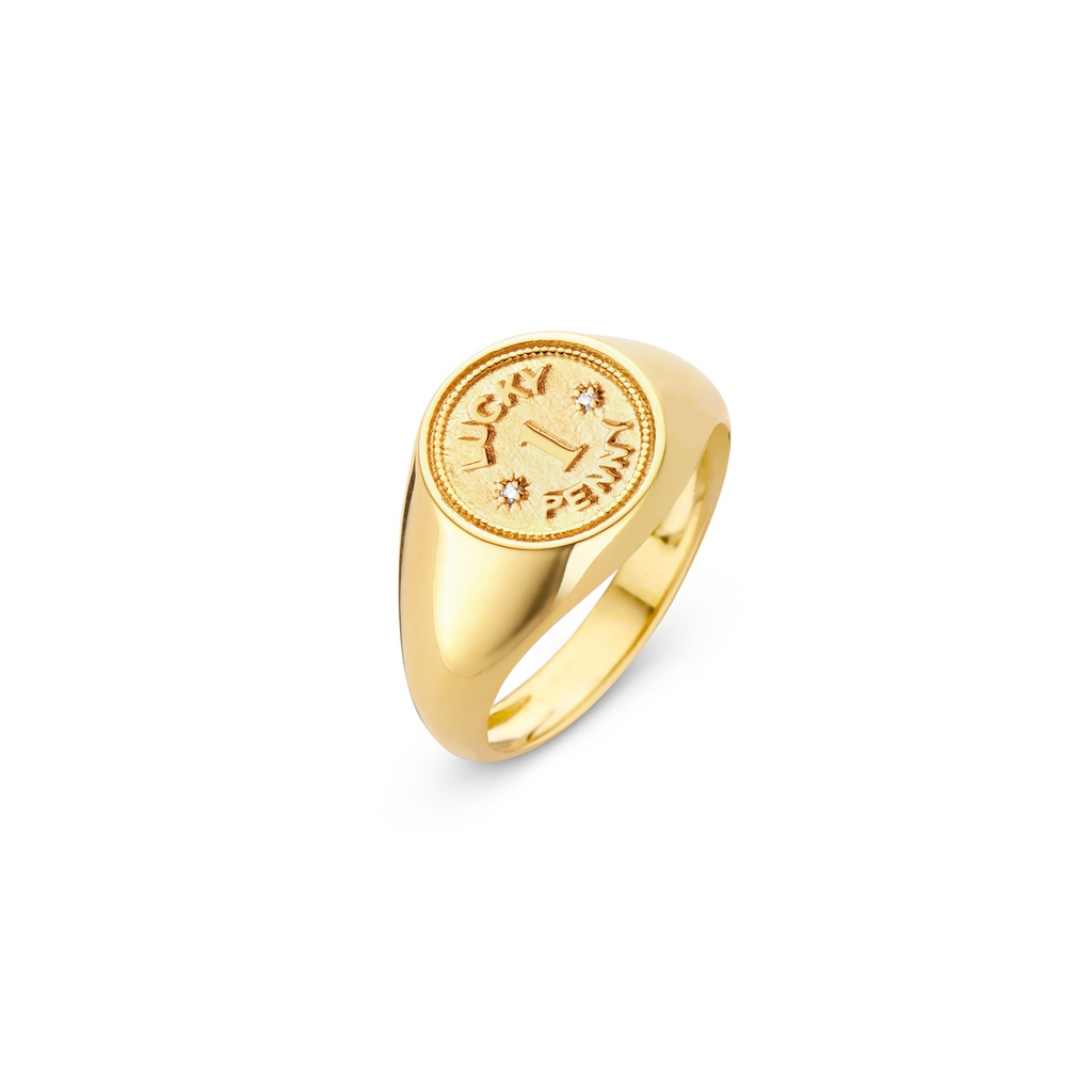 Lucky Penny Ring