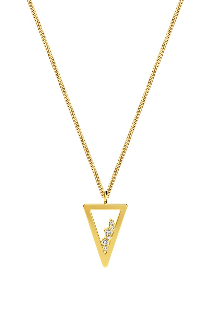 Triangle Unity Necklace