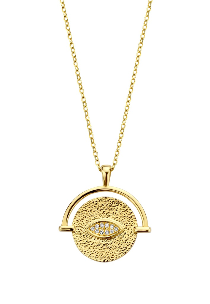 Golden Eye Necklace