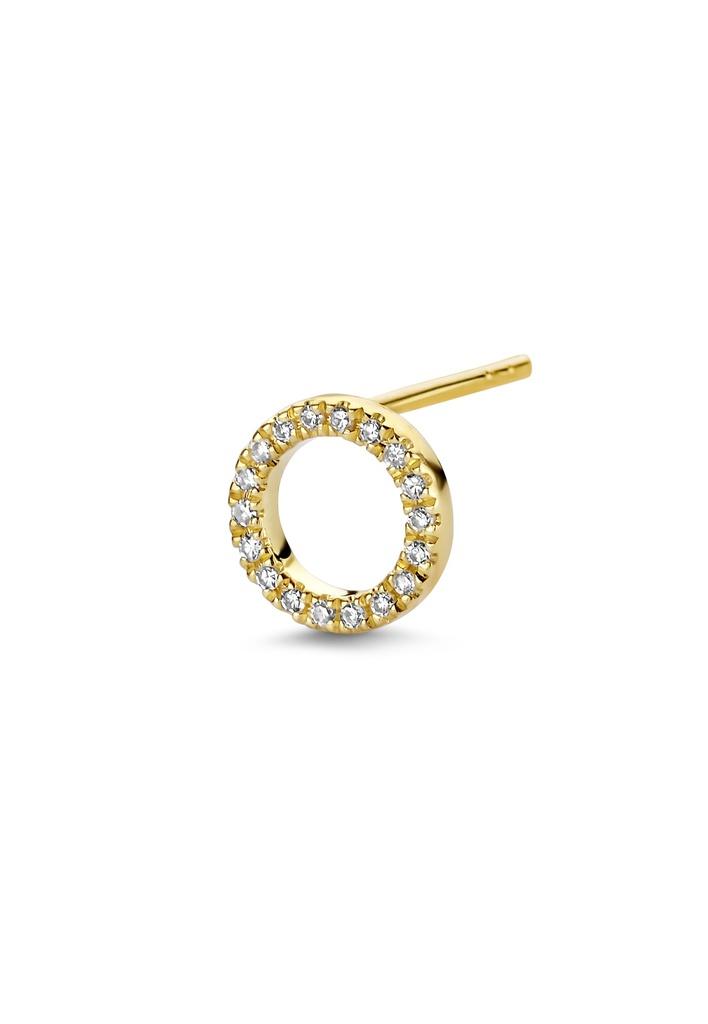 Full Circle of Life (Single) Earring