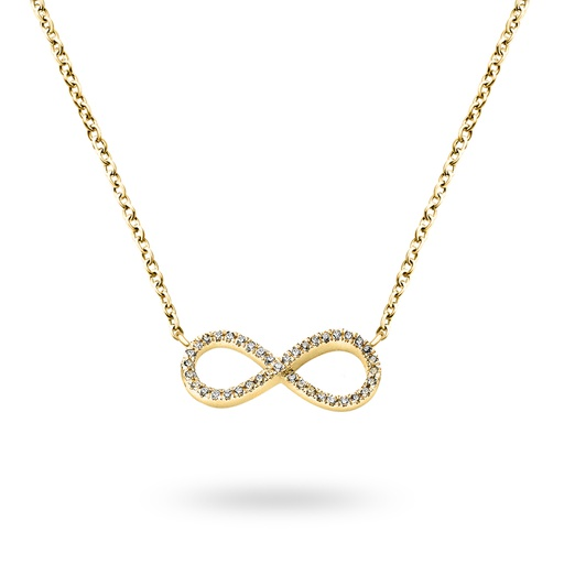 [M319] Big Infinity Necklace