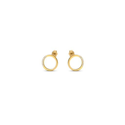 [M340] Circle of Life Earrings