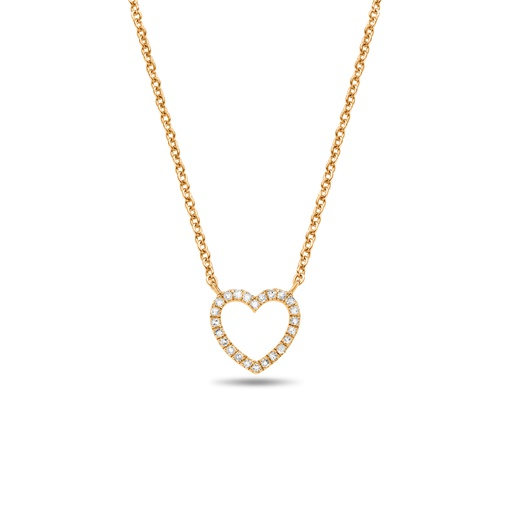 [M346] Heart Necklace