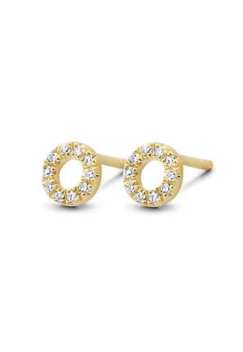 [M454] Small Circle of Life Earrings