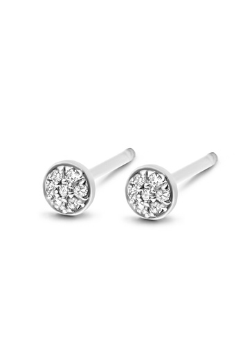 [M455] First Diamond Earrings