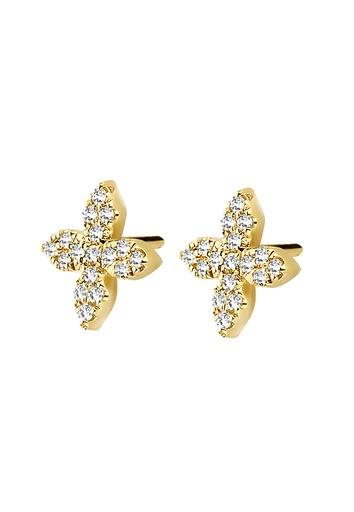 [M468] Little Flower Earrings