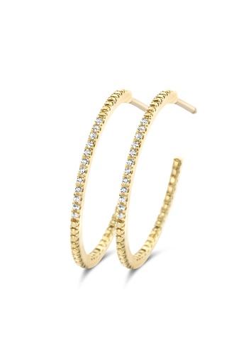[M483] Endless Diamond Earrings (M)