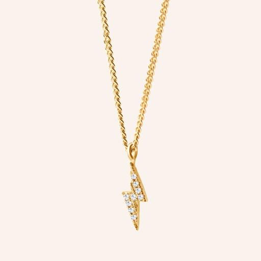 [M994] Thunder Diamonds Necklace