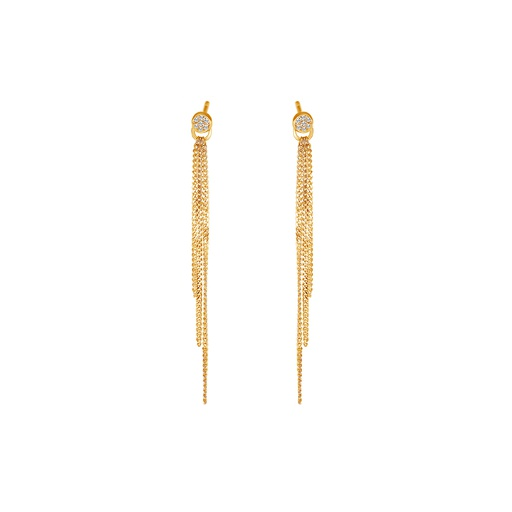 [M1036] Star (Circle) Earring