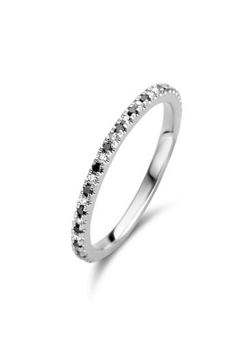 [M1302] Endless Ring Black & White