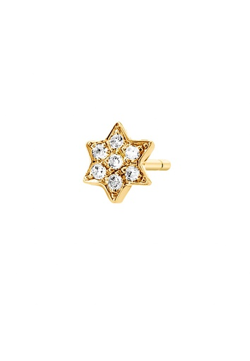 [M1308] Star (Single) Earring
