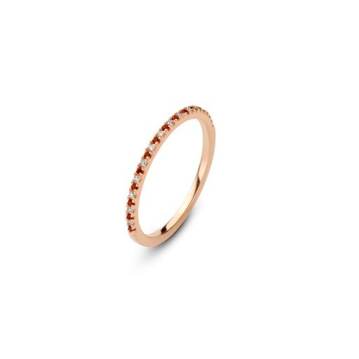 [M1344] Sanguine Moon Ring