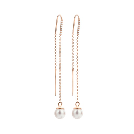 [M1378] Moon Phase Earrings