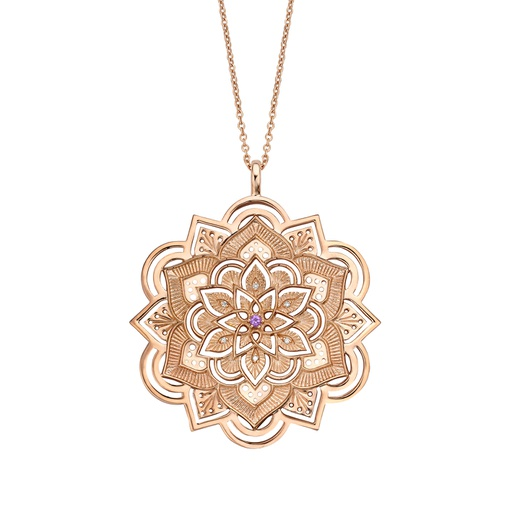 [M1393] Lotus Necklace
