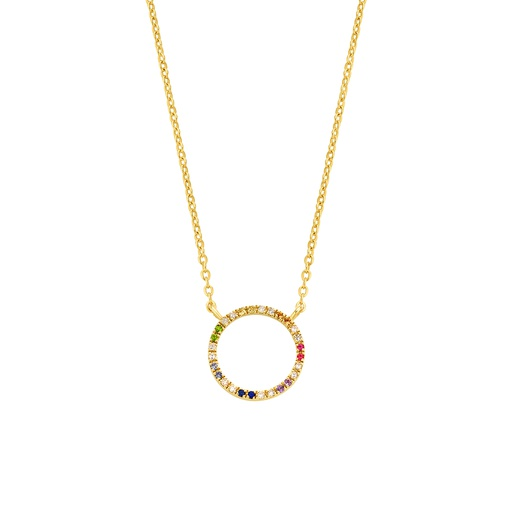 [M1401] Seventh Circle of Life Necklace
