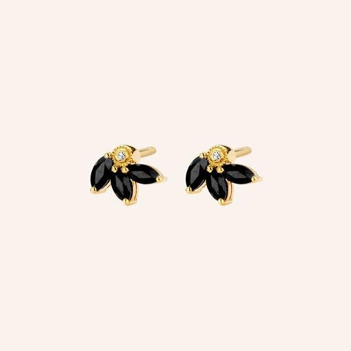[M1444] Flame Earrings