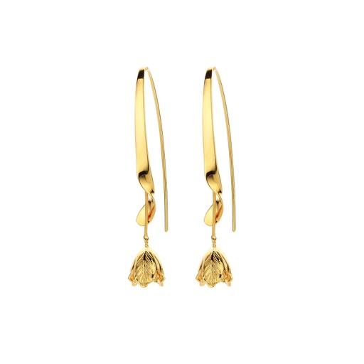 [M1461] Black Parrot Earrings