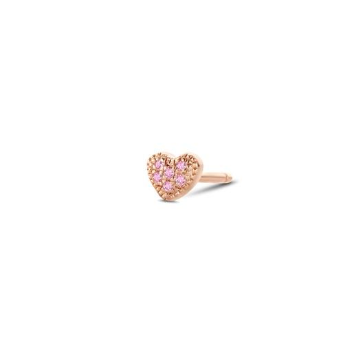 [M1512] Attraction Heart (Single) Earring