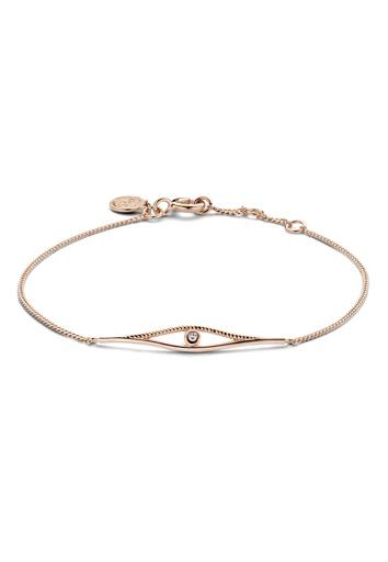[M1546] Diamond Twist Bracelet